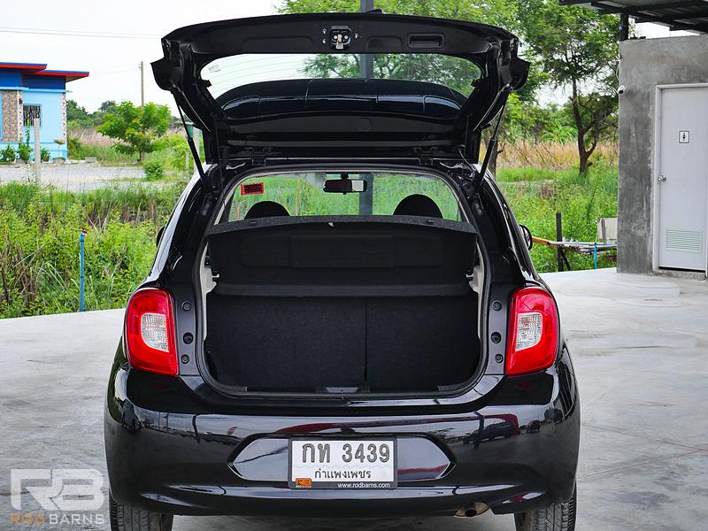 Nissan March 1.2E MT ปี2018 full