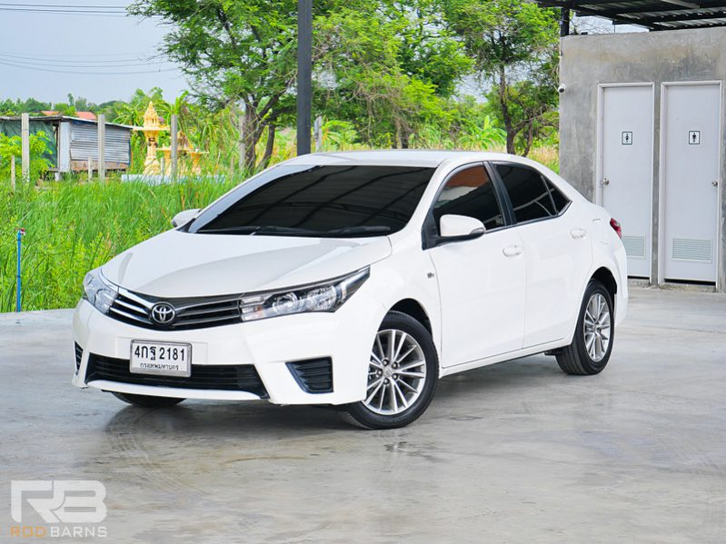 Toyota Altis 1.6E CNG ปี 2015