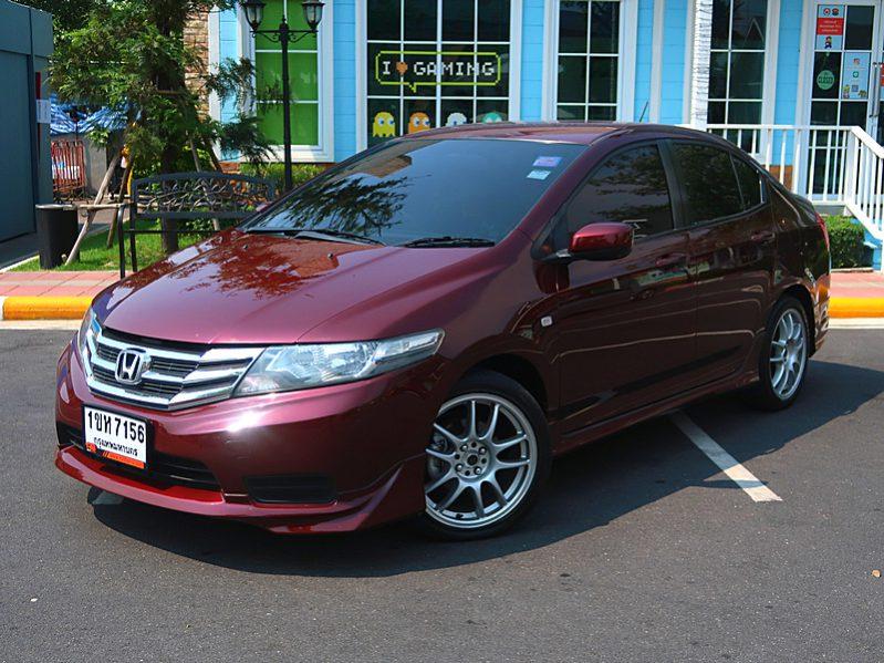 Honda City 1.5V CNG ปี 2013